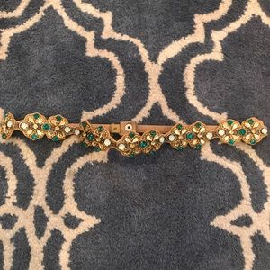Anthropologie Jeweled Belt